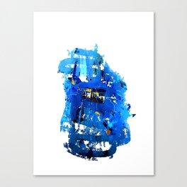 Blue Emotion Canvas Print