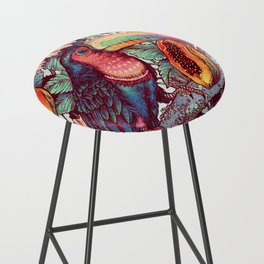 Froot Loops Bar Stool
