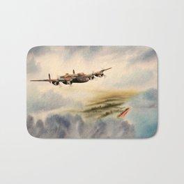 Avro Lancaster Aircraft Bath Mat