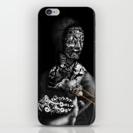 LADY WITH ERMINE BY  LASER BEAMS iPhone Skin