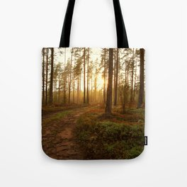 The Warmest Morning Tote Bag