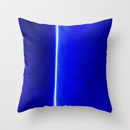 Photon Streak Throw Pillow