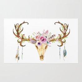 Deer Skull Rug