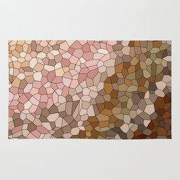 Skin Tone Mosaic Rug