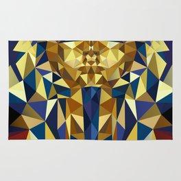 Golden Tutankhamun - Pharaoh's Mask Rug