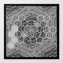 Honeycomb Portal Canvas Print