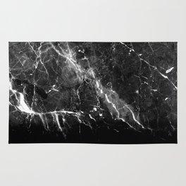 Black Gray Marble #1 #decor #art #society6 Rug