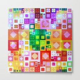 Color Geometrics Metal Print