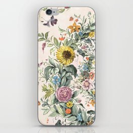 Circle of life- floral iPhone Skin
