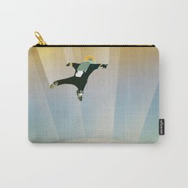 NASA Retro Space Travel Poster #6 Carry-All Pouch