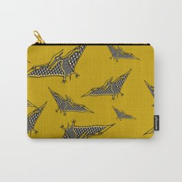 Pterosauria mustard Carry-All Pouch