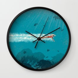 Comfort Zone Wall Clock