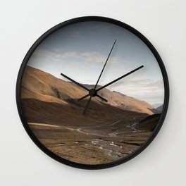 Atigun Sunrise Wall Clock