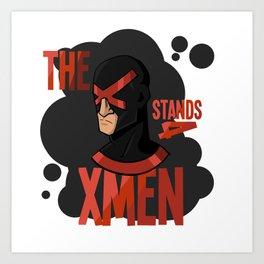 The X stands 4 XMEN Art Print