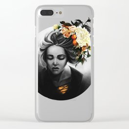 Blossom Blonde Clear iPhone Case