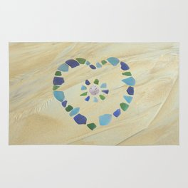 Heart of glass Rug