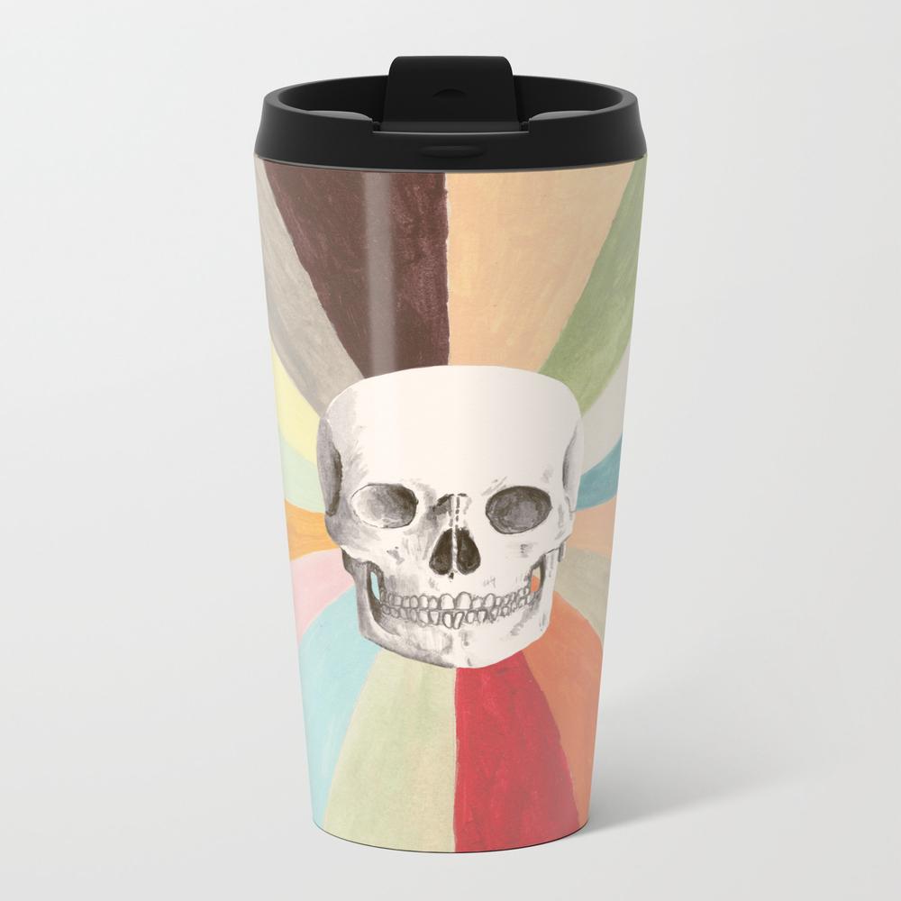 Skull Is Cool Metal Travel Mug by Speakerine MTM8831466