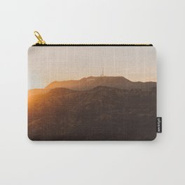 Hollywood Sign from Griffith in the sunset Carry-All Pouch