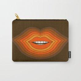 Pop Lips - Golden Carry-All Pouch