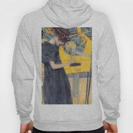 """Gustav Klimt """"Music (Die Musik)"""" Hoody"""