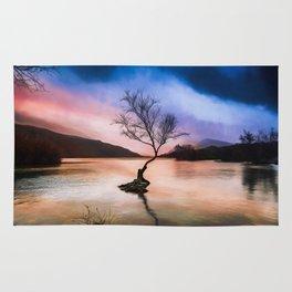 Llanberis Lake Tree Rug