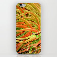 Rainbow hair iPhone & iPod Skin