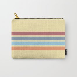 Retro Stripes 14 Carry-All Pouch