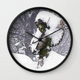 Consoling Angel • Cherub Wall Clock