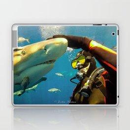 Shark Bite Diving Laptop & iPad Skin
