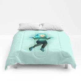 Winter Girl Comforters