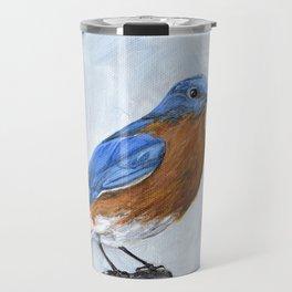 Bluebird Art Travel Mug