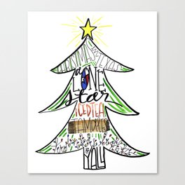 Christmas in Texas Canvas Print