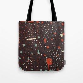 Retro CityLights Tote Bag