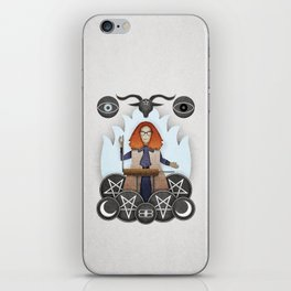 Silver Springs: An Homage to Myrtle Snow iPhone Skin