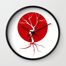 what lies beneath Wall Clock