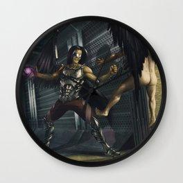 Kaden Telum: The Bringer of Dawn Wall Clock