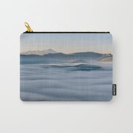 Above the fog, Castelluccio, Italy Carry-All Pouch