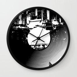 Urban Vinyl of Underground Music Wall Clock