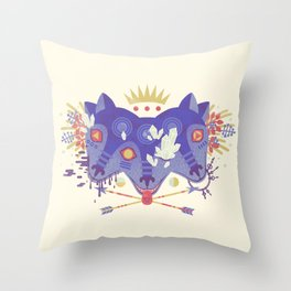 The Gatekeeper Throw Pillow