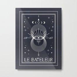 The Magician or Le Bateleur Tarot Metal Print