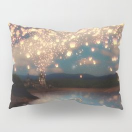 Love Wish Lanterns Pillow Sham