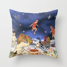 TOYLAND Throw Pillow