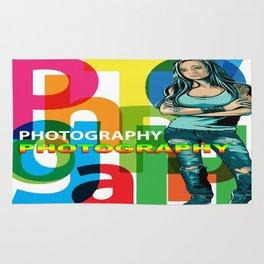 Creative Title : PHOTOGRAPHY STILL Rug