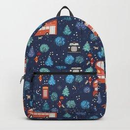 London Christmas Backpack
