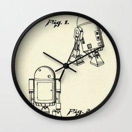 Robot R2D2-1979 Wall Clock