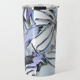 Malva Zebrina Travel Mug