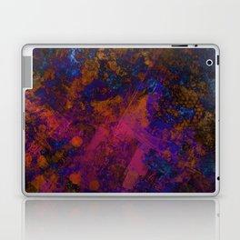Day Dreaming - Abstract, metallic, textured, paint splatter style artwork Laptop & iPad Skin