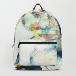 HORATIO NELSON - watercolor portrait Backpack