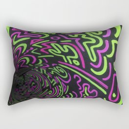 Reality Tunnel Rectangular Pillow