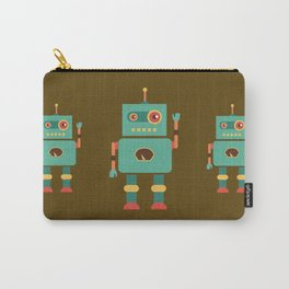 Fun Robot Toy Graphic Carry-All Pouch